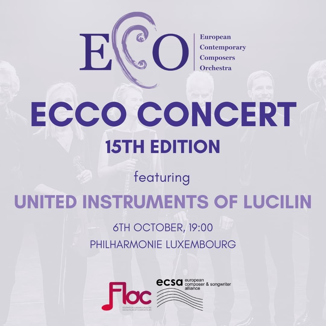 ECCO Concert October 2020